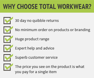 why choose total workwear