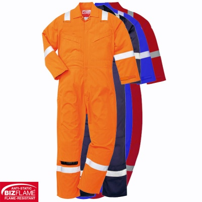 Lightweight Anti Static Flame Retardant Coverall - FR28