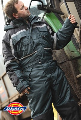 Dickies Waterproof Padded Coveralls - WP15000