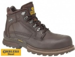 Amblers Steel Waterproof Anti-Static Safety Boots - FS186