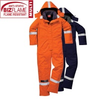 Anti Static Winter Flame Retardant Coverall - FR53