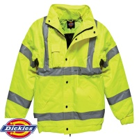 Dickies High Visibility Bomber Jacket - SA22050