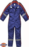 Dickies Firechief Lightweight Pyrovatex Coveralls - FR5055
