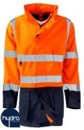 Hi Vis Breathable Antistatic Flame Retardant Jacket - FRASMTTJ