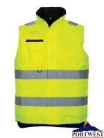 Hi-Vis Multi-Pocket Bodywarmer - S269X