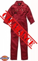 Dickies Redhawk Zip Boilersuit - WD4839X