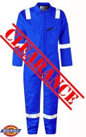 Dickies Firechief Pyrovatex Lined Coverall Hi Vis  Strips WD5025