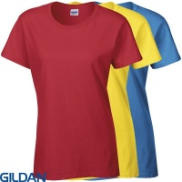 Gildan Heavy Cotton Womans  T-shirt - GD006
