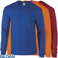 Gildan Cotton Adult Long Sleeve T-Shirt - GD014