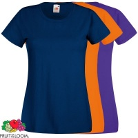 Fruit of the Loom Ladies Fit Valueweight Tee - SS050