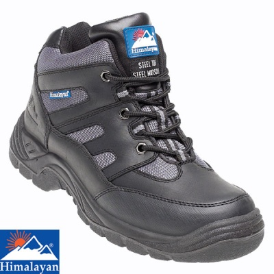 Himalayan Black Leather TPU Safety Cross Trainer Boot - 4000