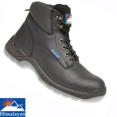 Himalayan Black Full Grain Safety Boot - 5052