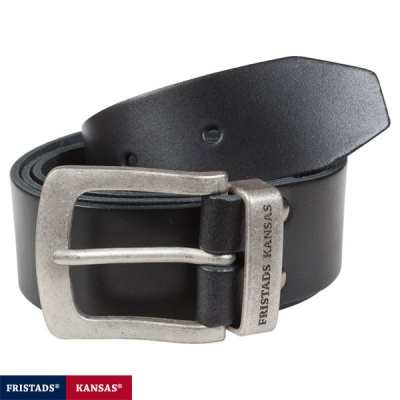 Fristads Kansas Vintage Buckle Leather Belt - 9371LTHR