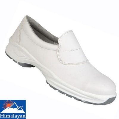 Himalayan White Microfibre Slip On Shoe - 9950