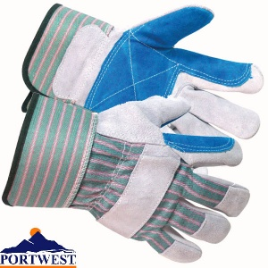 Portwest Canadian Rigger Work Gloves Agricultural Forestry Construction A210