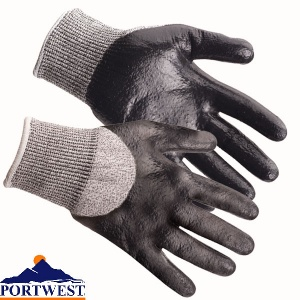 Portwest Cut 5 3/4 Nitrile Foam Glove - A621
