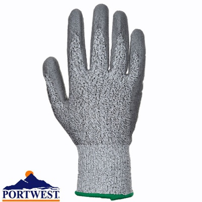 Cut 5 PU Palm Glove - A622