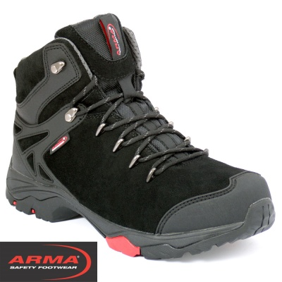 ARMA Suede Hiker S3 Safety Boot - A3JACKAL