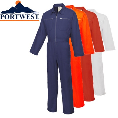 Portwest Cotton Boilersuit Coverall - C811
