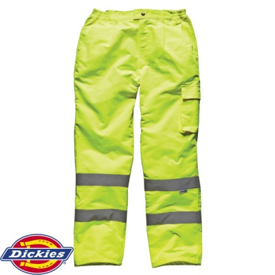Dickies High Visibility Polycotton Trousers - SA35015