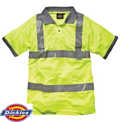 Dickies High Visibility Safety Polo Shirt - SA22075