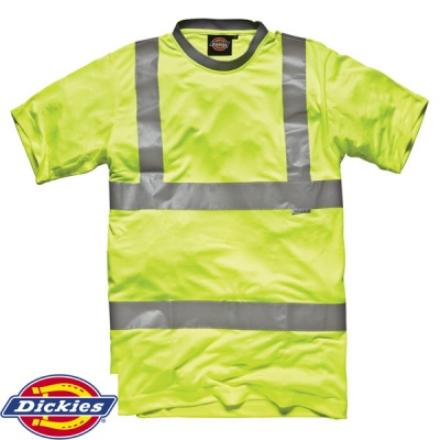 Dickies High Visibility Safety T-Shirt - SA22080