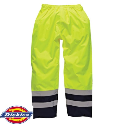 Dickies High Visibility Two Tone Trouser - SA1003