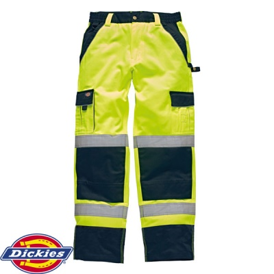 Dickies Industry 300 Hi-Vis Trousers - SA30035