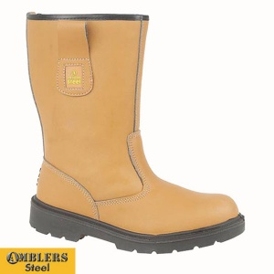 Amblers Unlined Rigger Boot - FS125