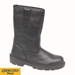 Amblers Lined Rigger Boot - FS224