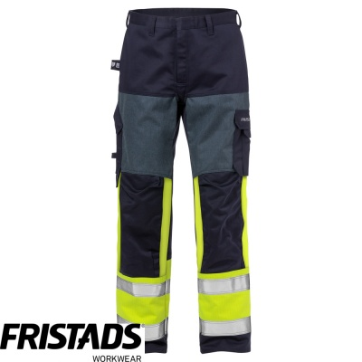 Fristads Flame Retardant High Vis Class 1 Trousers 2587 FLAM - 125942