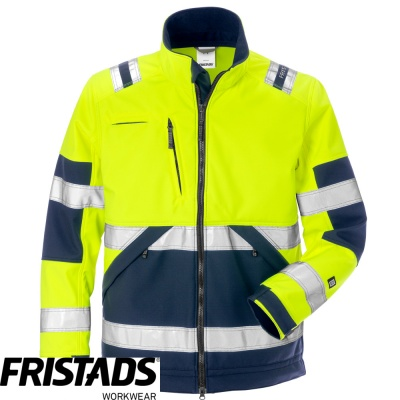 Fristads High Vis Class 2 Softshell Jacket 4083 WYH - 125024