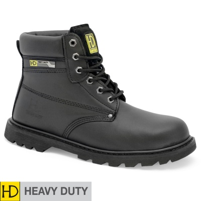 Heavy Duty Black SBP/SRC Goodyear Welted Safety Boot - HD22P