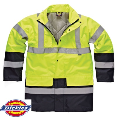 Dickies High Visibility Two Tone Parka - SA7004