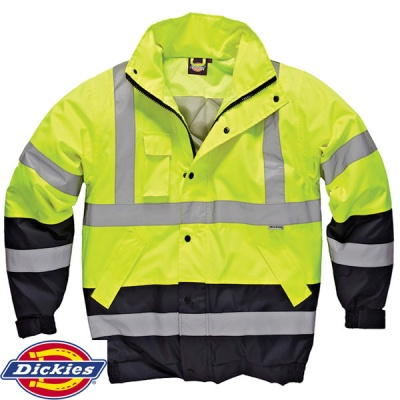 Dickies High Visibility Two Tone Pilot Jacket - SA7005