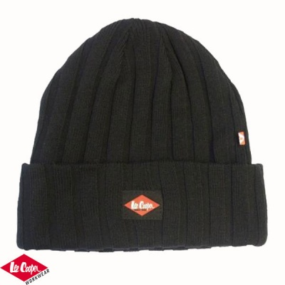 Lee Cooper Ribbed Beanie - LCH601