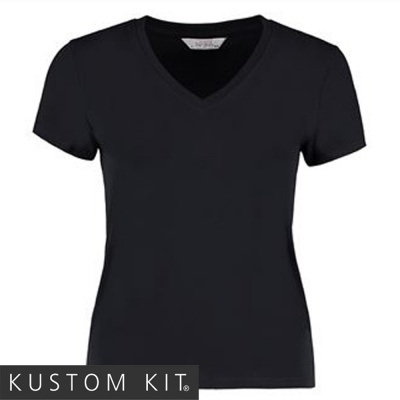 Kustom Kit Ladies Cafe Bar T Shirt Top - KK512
