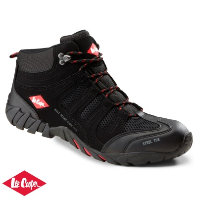 Lee  Cooper Mid Cut Safety Trainer Boot S1P - LC020