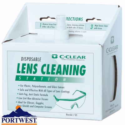 Lens Cleaning Station - PA02