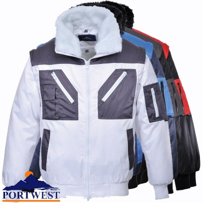 Two Tone Pilot Jacket - PJ20