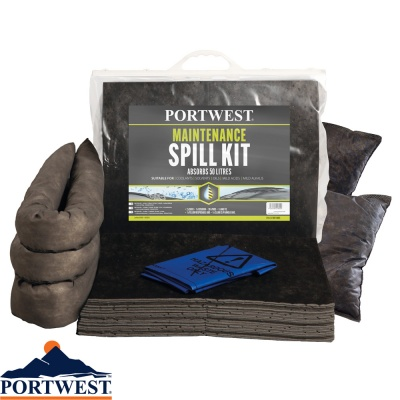 Portwest Spill 50 Litre Maintenance Kit - SM31