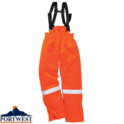 Portwest  Flame Retardant Araflame Insulated Winter Salopettes  - AF83