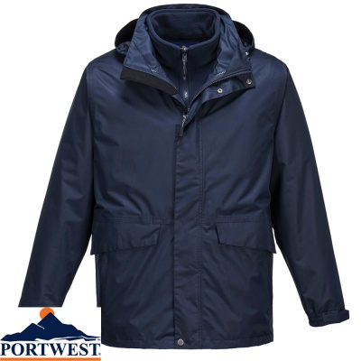 Portwest Argo Waterproof Breathable 3 in 1 Jacket - S507