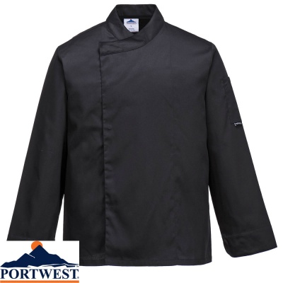 Portwest Cross-Over Chefs / Catering  Jacket - C730