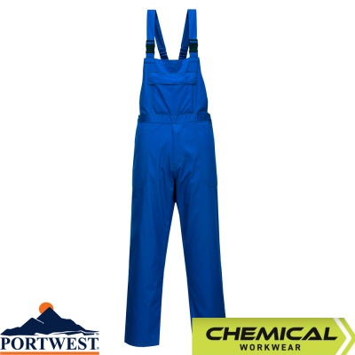 Portwest Chemical Resistant Workwear Bib & Brace - CR12