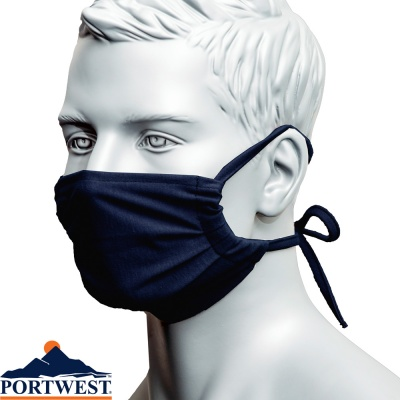 Portwest Flame Resistant Mask (25 Pack) - FR40