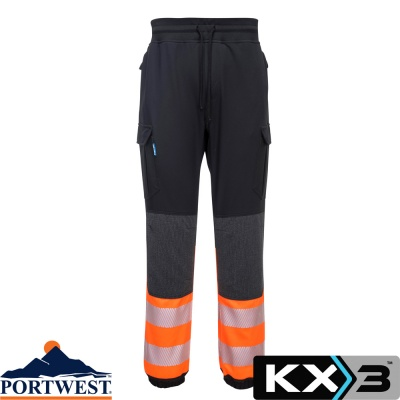 Portwest KX3 Hi-Vis Flexi Work Trouser - KX341