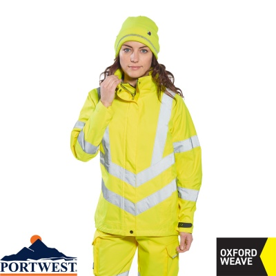 Portwest Ladies Hi-Vis Breathable Workwear Jacket - LW70