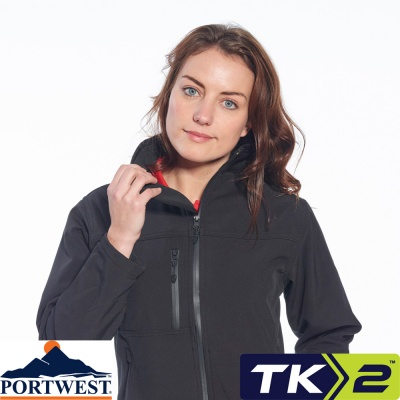 Portwest Ladies Technik Soft Shell Workwear Jacket - TK41