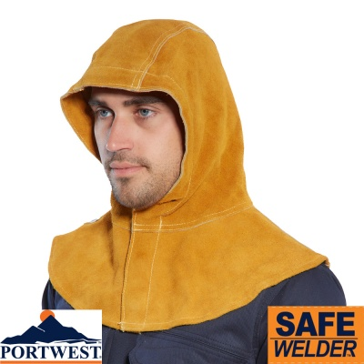 Portwest Leather Welding Hood - SW33